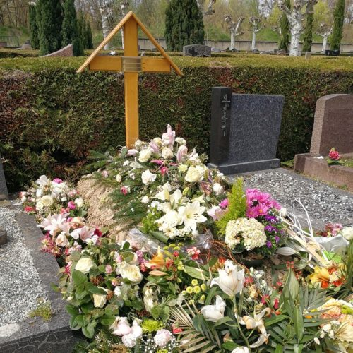 sépulture après obsèques