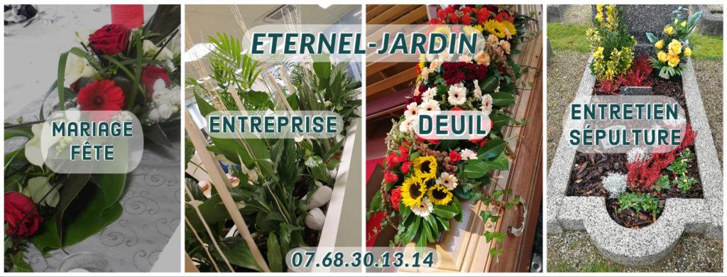 pub éternelle jardin, mariage, entreprise, deuil, entretien de sépulture dans le bas-rhin